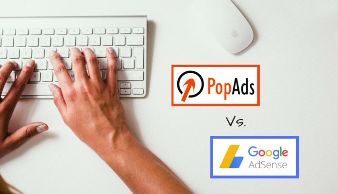 PopAds vs Google AdSence in Hindi Review
