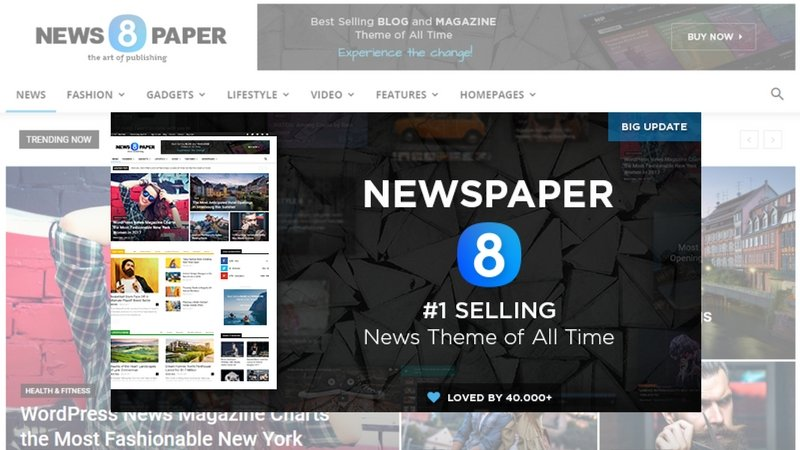 Newspaper Theme - www.techactive.in