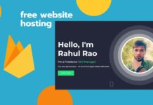 Firebase Free Web Hosting